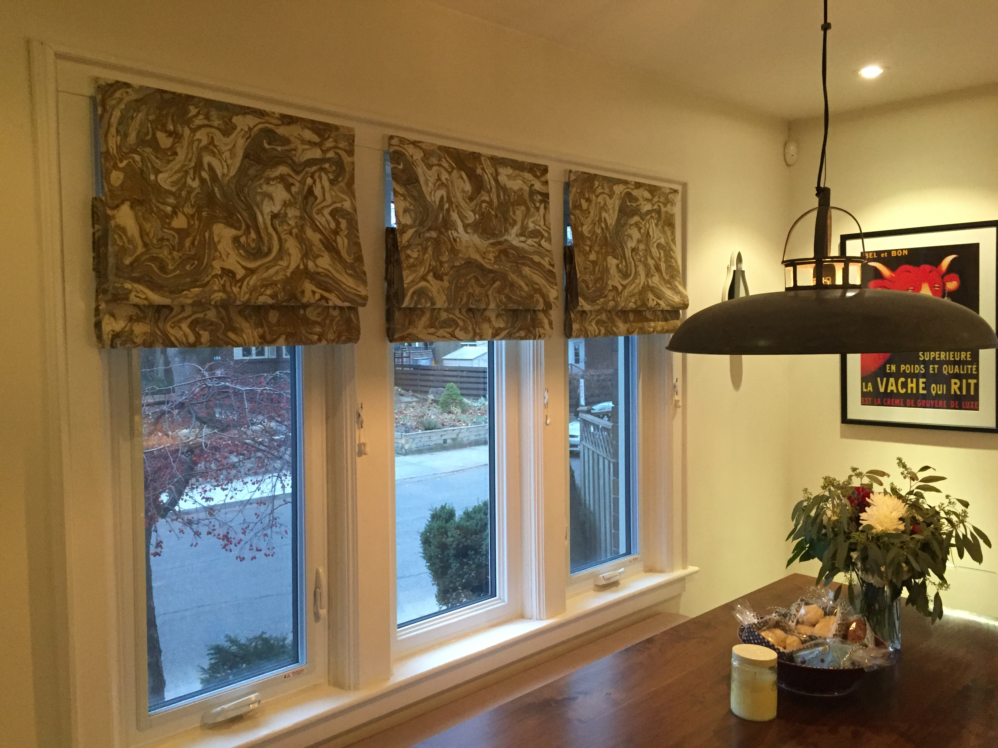 Roman Blinds In Kitchen Diy No Sew Roman Blinds Meet Me The T