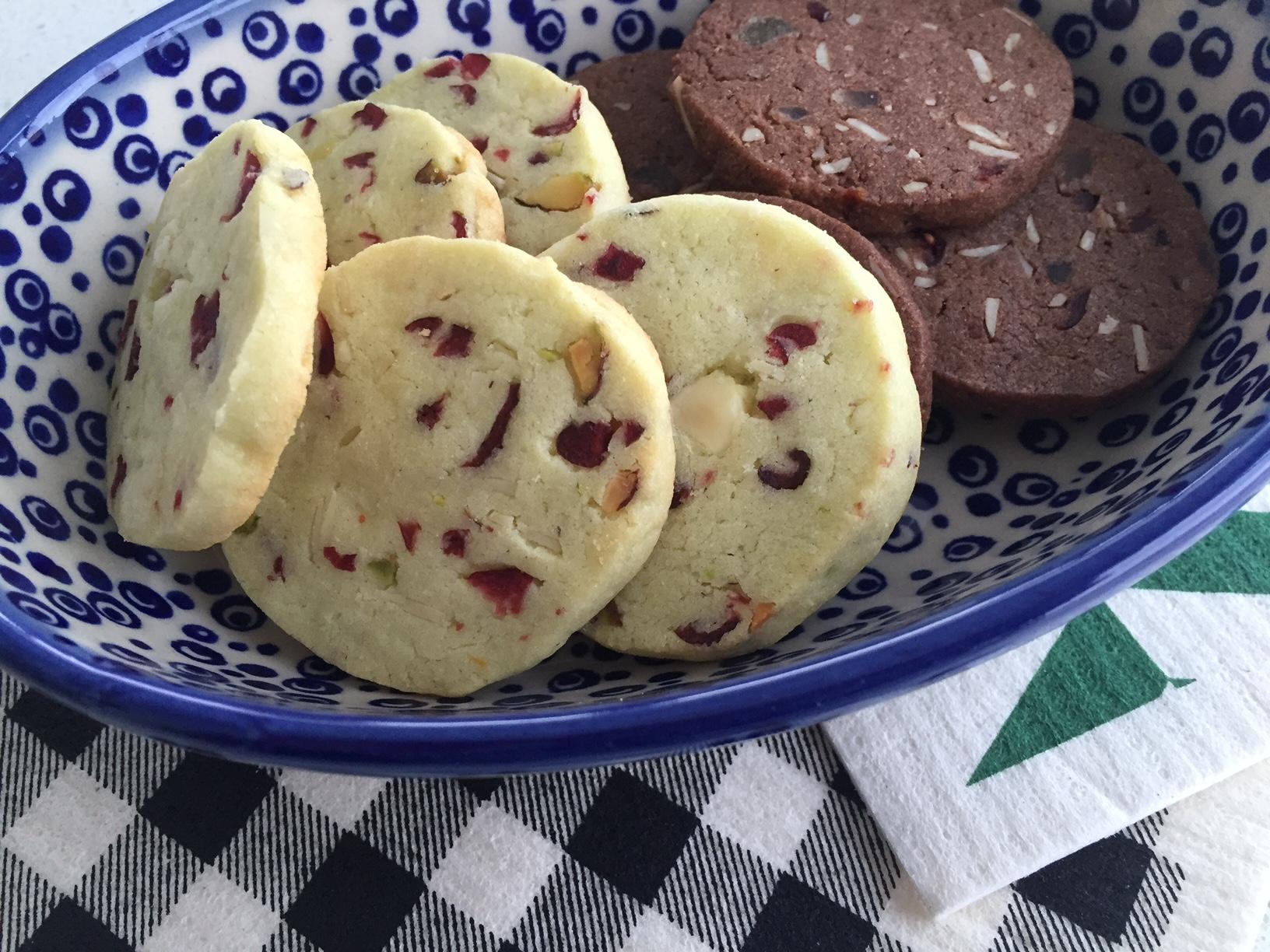 Festive Icebox Cookies Two Ways Meet Me The T
