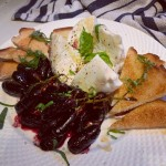 Grapes and Burrata